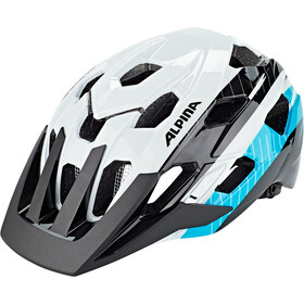 Alpina Anzana Helmet white-black-blue